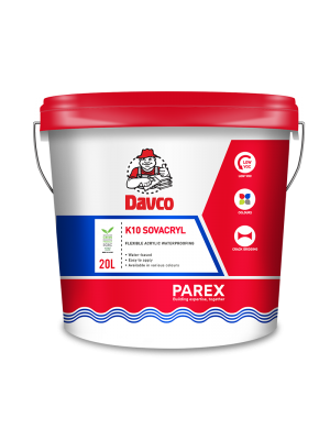 DAVCO K10 SOVACRYL (20litre) COLOURED