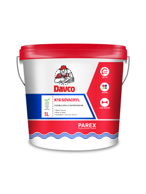 DAVCO K10 SOVACRYL (5litre) COLOURED