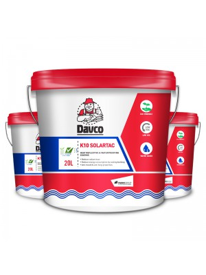 HEAT SHIELDING FOR ROOF & WALL - 3 x DAVCO K10 SOLARTAC (20Litre)