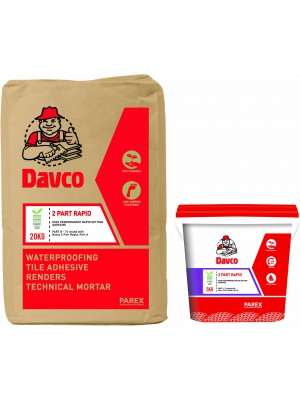 DAVCO  2 PART RAPID (25kg SET) Grey