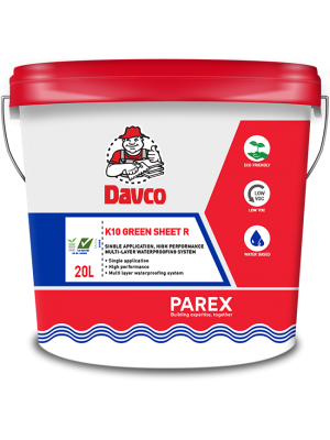 DAVCO K10 GREEN SHEET R (20 litres) Grey