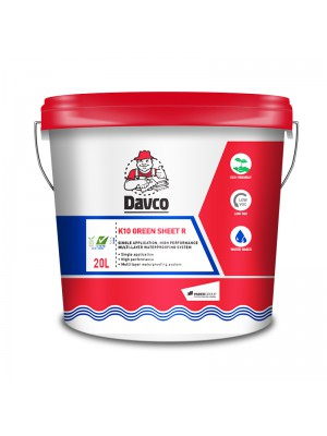 DAVCO K10 GREEN SHEET R (20 litre) White