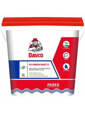 DAVCO K10 GREEN SHEET R (5 litres) Grey