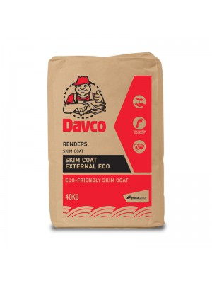 DAVCO SKIM COAT EXTERNAL ECO (40kg)