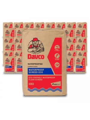 50 BAGS OF WATERPROOF SCREED (10% OFF)