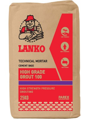 LANKO HIGH GRADE GROUT 100 (25kg)