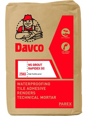 DAVCO NS GROUT RAPIDEX II (25KG)