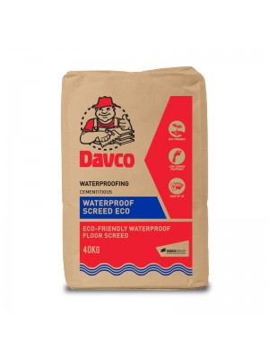 DAVCO WATERPROOF SCREED ECO (40kg)