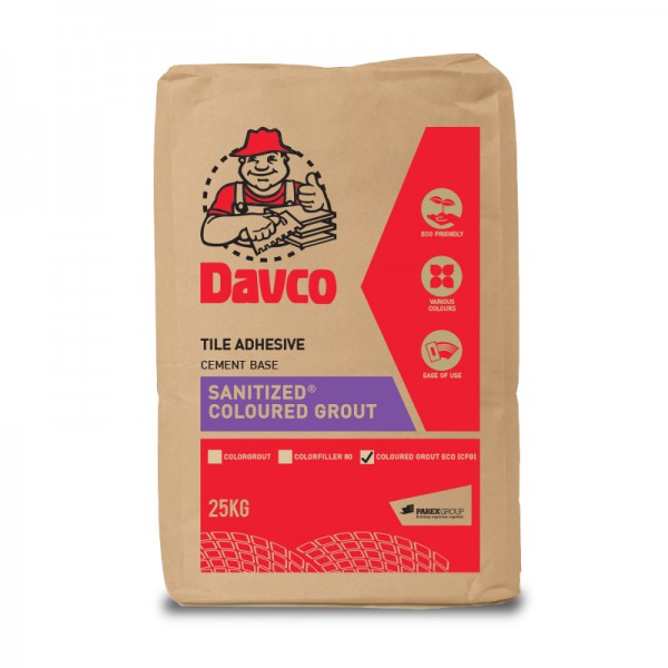 Davco Sanitized Coloured Grout Eco Cfg
